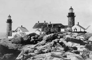 lighthouse bw
