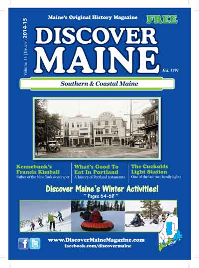 Discover Maine Magazine Cover