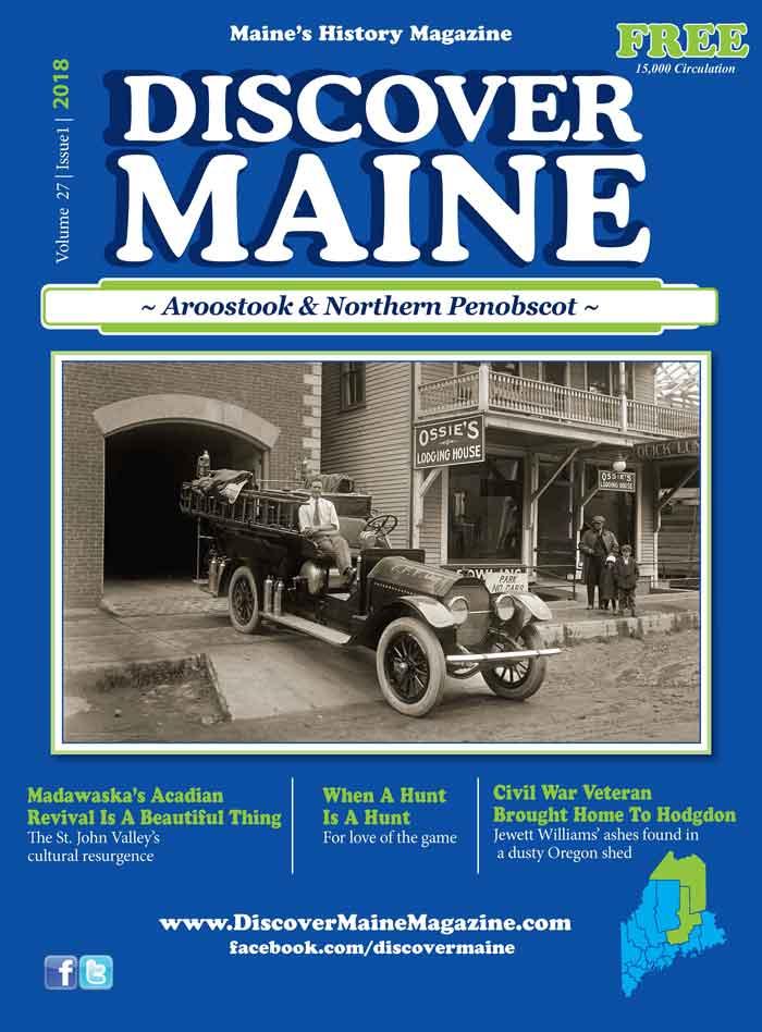 Discover Maine Magazine Cover